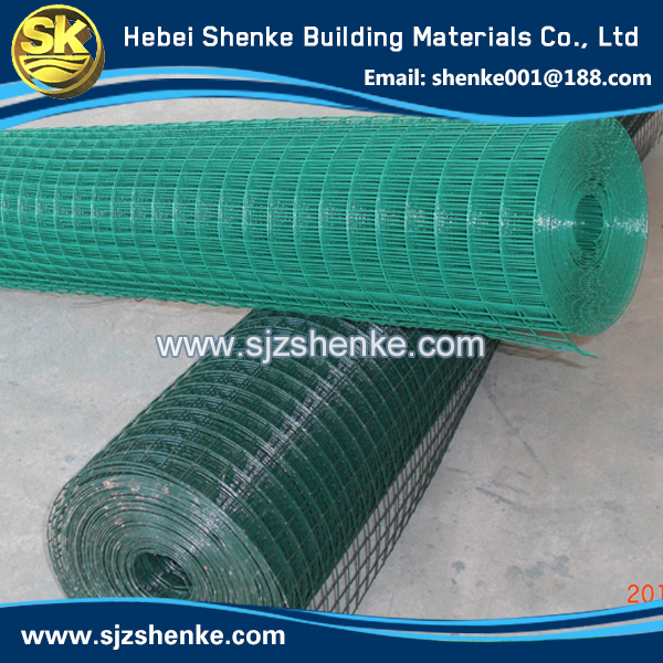 Galvanized or PVC coated 1/2 inch galvanized welded wire mesh