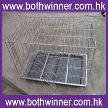 KA055 folding stainless steel dog cages