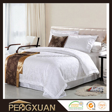 factory price 4 star hotel luxury brands bedding set for adult jacquard