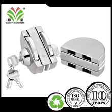glass door lock sliding frameless tempered glass door key lock with wring