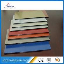 Fire resistant interior wall decoration material aluminum compose panel wall cladding