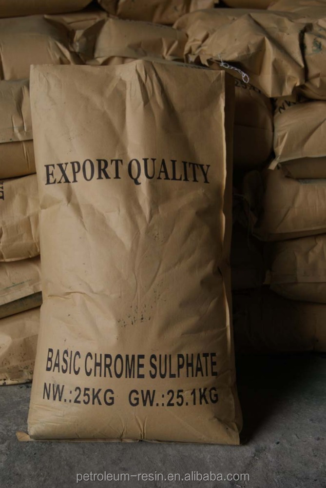Basic chromium sulphate(BCS)-- tanning chemical 24-26%