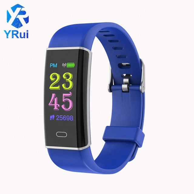 <strong>D12</strong> Factory Cheap Price Smart Bracelet Watch physiology reminder Heart rate and blood pressure