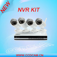 4ch 720P Megapixel IP Camera P2P network NVR kit for home surveillance system security camera