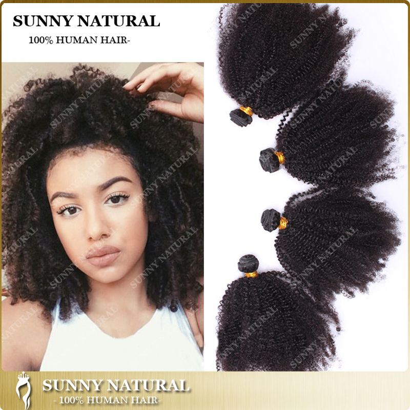 Wholesale 7a Unprocessed Virgin Hair Afro Kinky Curly Hair Extension