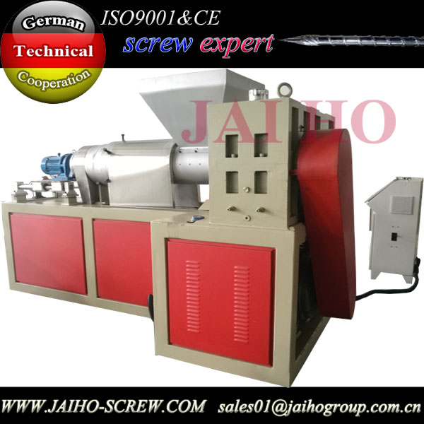 plastic recycling squeezing machine