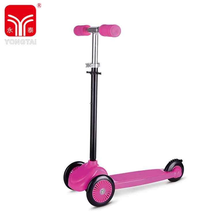 Best Quality 3 Wheels Kick Scooter, PP Deck Aluminum Tube Sports Scooter For Children