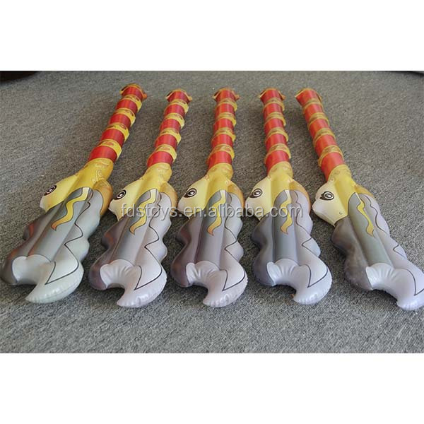 High quality plastic inflatable Sword 80cm