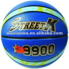 12 pannels Rubber Basketball/deep channel
