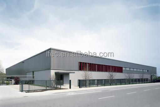flexible customized design steel structure factory building