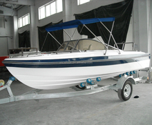 china small cheap rigid hull center console fiberglass passenger rowing fishing speed pontoon boat hulls price for sale