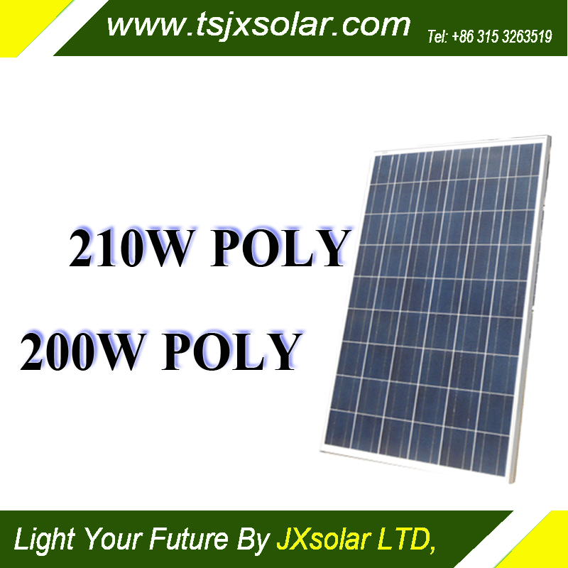 Cheap solar panels in China, polycrystalline solar penels with 200w for your home use