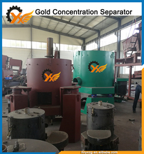 Easy installation Centrifuge Force Gold Separator Machine Concentrator