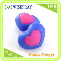 New small items heart shape grip ball birthday gifts for kids