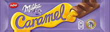Milka Caramel with Filling 45g