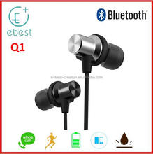 Bluetooth Earphone bluetooth version 4.1 In ear headphone 2017 latest human engineering design good quality headset