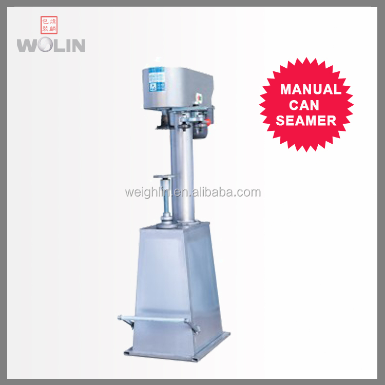 new released Semi-auto Manual can tine glass seaming sealing machine high quality factory supply weighlin packaging