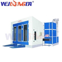 WLD8200 oven bake automotive outdoor car painting spray booth for sale