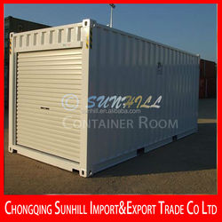 Hot sale transformed 40ft Shipping Container Hotel/ Office/ Workshop/ bedroom
