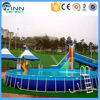 Commercial Center New Designs Metal Frame Portable Swimming Pool
