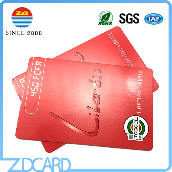 nfc Paper Card 13.56mhz Paper RFID Ticket