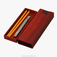 New Creative Cheap Wood Pen Case Wooden Pen Gift Boxes For Wholesale