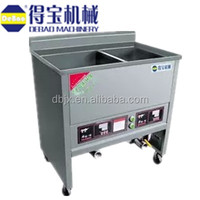 stainless steel chicken pressure fryer machine with 2 tanks made in China