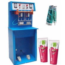 New design plastic tube filling and sealing machine