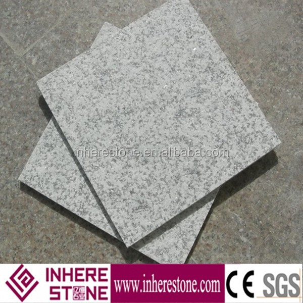China grey white granite G655, silver grey granite, natural stone look ceramic tiles
