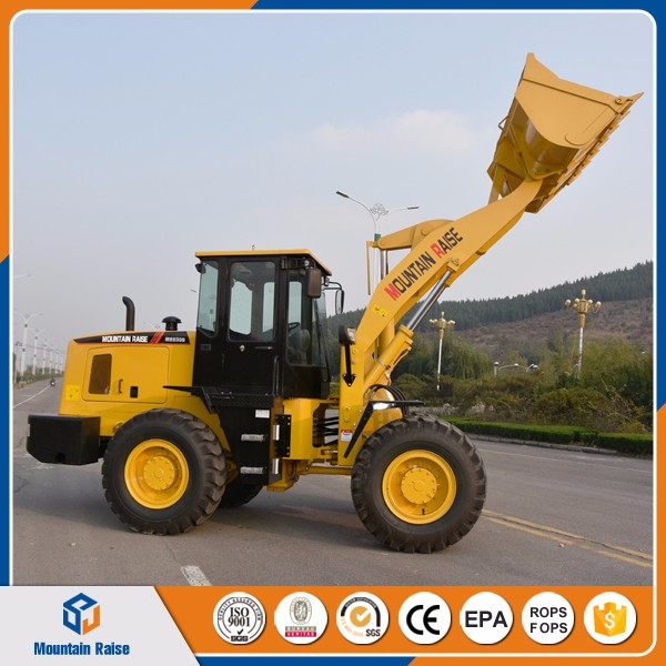 Brand Mountain Raise 3 ton Wheel Loader For Sale
