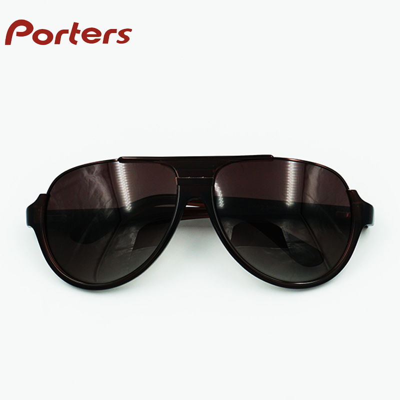 Manufacture list polarized men brown sunglasses