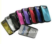 plating back case for 9700 mobile phone plating case with CD grain pattern for 9700