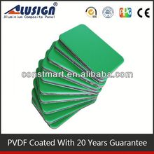 Facade plastic wall covering