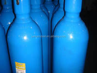 China Supplier Gas Bottle 40L Industrial Oxygen Cylinder