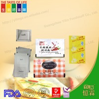 super quality 1.1g salt and pepper condiment sachets with OEM service from china manufacturer