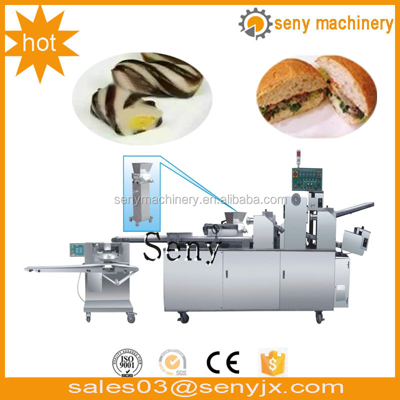 Automatic Multi-function Biscuit Chocolate Cookies Bread Horizontal Flow Pack Machine