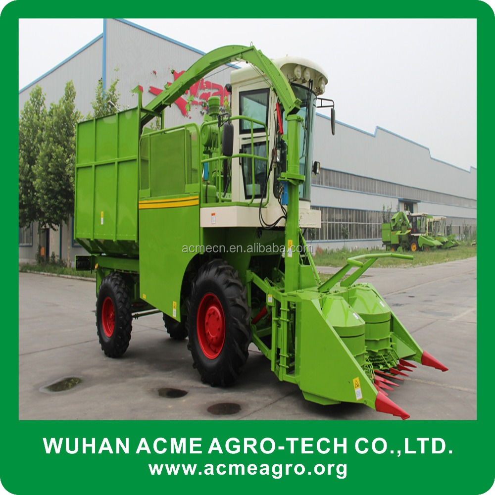 Farm corn silage forage harvester/grass chopping machine