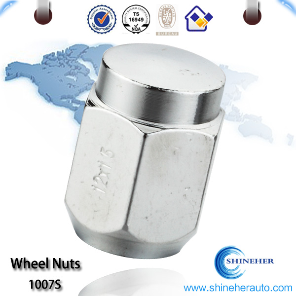 CNC m14x2 lug nuts for Japanese market