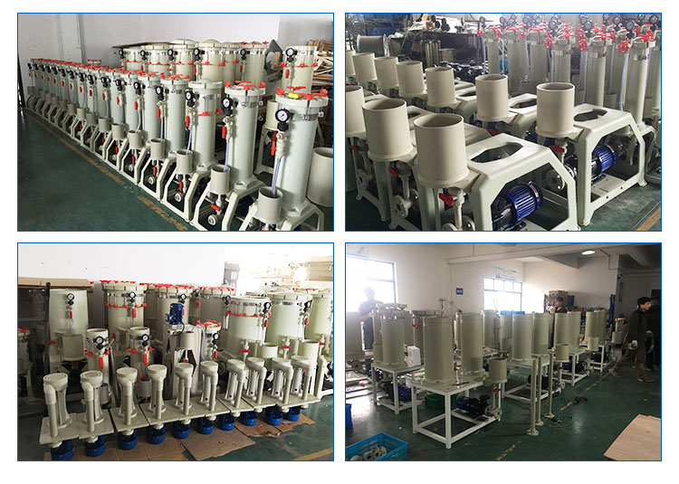 PVDF/GFPP/PMMA material chemical liquid filter, electroplating filter manufacturing equipment