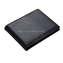 Leather ID Card Wallet Bifold/Trifold Money Carrying Case