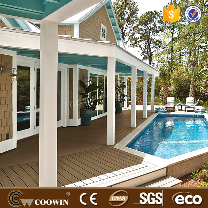 prefabricated houses WPC composite decking/laminated flooring