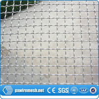 SS 304 stainless steel crimped wire mesh