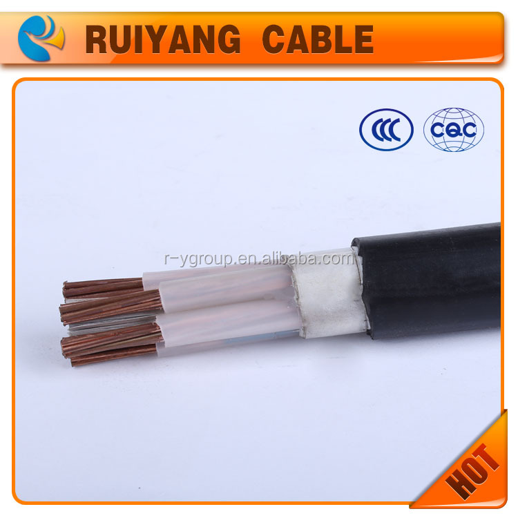 0.6|1kv low voltage 5 core 16mm2 copper conductor XLPE insulated PVC sheathed power cable electric cable manufacture