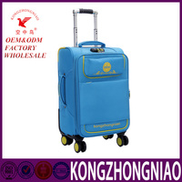 Hot design aluminum luggage with removable wheels,manufacturer supplier