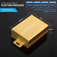 76*35-D China electronics anodized extruded waterproof aluminum presentation box