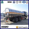 China 6x4 fuel and diesel tanker truck capacity for sale