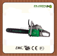 Two stroke gasoline chainsaw 45/52/58cc with 18''/20''/22'' chain and bar