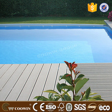 recyclable wpc pwc wood plastic composite grey decking