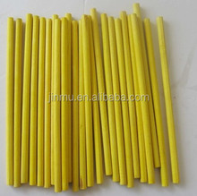 rainbow colored craft sticks made of birch wood