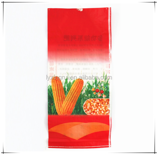 China printing Pp Woven 25kg polypropylene packaging bags
